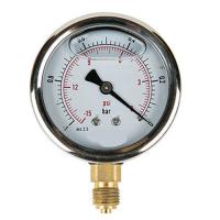 Κενομετρο Φ.100 κάθετο γλυκερινης