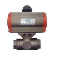 """Πνευματική βάνα τρίοδη ball valve CP3V 1/2"""""""